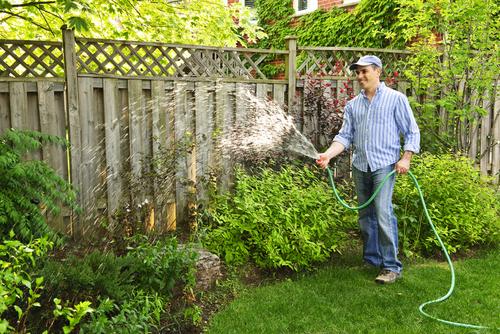 Gartenzaun als Sichtschutz