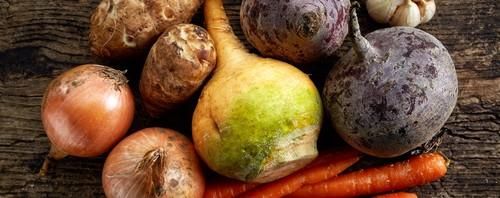 Gemüses im Winter